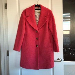 Leifsdottir Pink Coat from Anthropologie